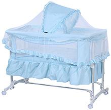 Fab N Funky Baby Cradle - Blue