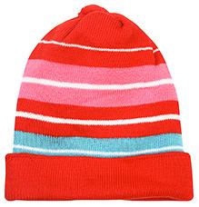 Babyhug Woolen Cap - Multi Colour