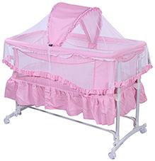Fab N Funky Baby Cradle - Pink