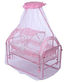 Fab N Funky Baby Swinging Cradle - Pink