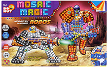 Toysbox Mosaic Magic Robos - Multi Color