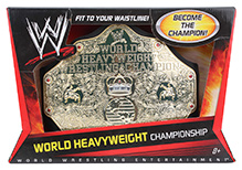 Mattel World Heavyweight Championship Belt