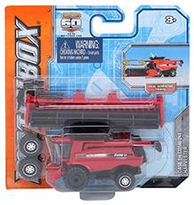 Matchbox Case IH Combine Harvester - Red