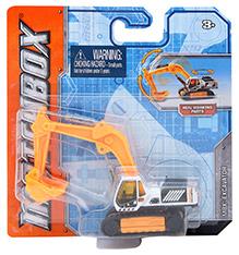 Matchbox Excavator - Orange