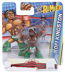 WWE Figure Kofi Kingston - Height 6 cm