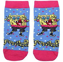 Mustang Socks Blue - SpongeBob Print