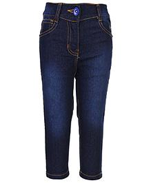 Babyhug Denim Jeans - Dark Blue