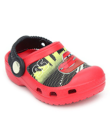 Crocs Clogs With Back Strap - Disney Cars Graphic