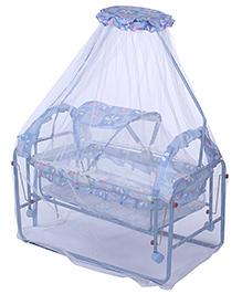 Fab N Funky Baby Swinging Cradle - Blue