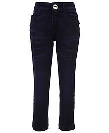 Babyhug Denim Jeans - Ink Blue