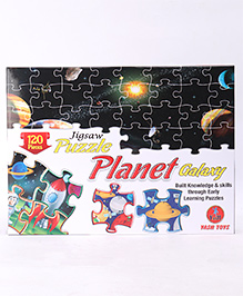 Yash Toys Jigsaw Puzzle Planet Galaxy - 120 Pieces - 3 Years+