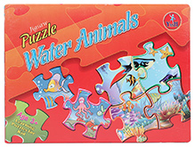 Yash Toys Jigsaw Puzzle Water Animals - 120 pieces