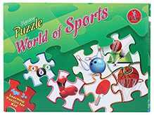 Yash Toys Jigsaw Puzzle World Of Sports - 120 pieces