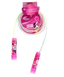 Disney Jumping Rope Minnie  Printed - Pink