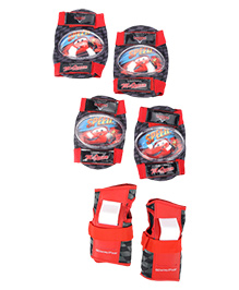Disney Pixar Cars Skate Protection Set - Red And Black