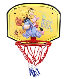 Disney Winnie The Pooh Basketball Board Set - Blue