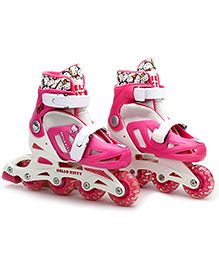 Hello Kitty Skates 4 Wheels Cutie Look - Pink