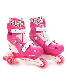 Disney Hello Kitty Multi Function Inline Skates - Pink