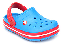 Crocs Clogs With Back Strap - Hole Design Upper