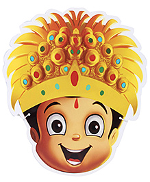 Chhota Bheem And The Throne Of Bali Masks - Set Of 8