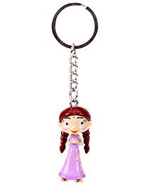 Chhota Bheem Key Chain Purple - Chutki