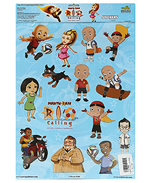 Mighty Raju Stickers - Rio Calling