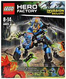 Lego Hero Factory Invasion From Below - Surge And Rocka