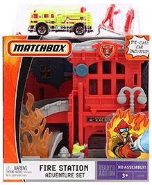 Matchbox Fire Station Adventure Set