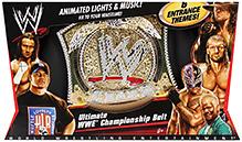 WWE Championship Belt - Animated Light And Music