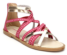 Kittens Party Wear Sandals - Pink