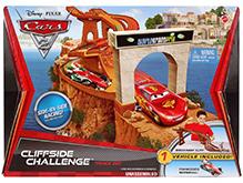 Disney Pixar Cars Cliffside Challenge Track Set