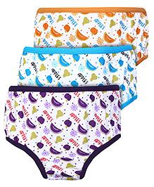 Bodycare Fruit Print Panties - Set of 3