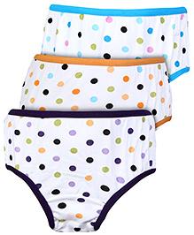 Bodycare Dot Print Panties - Set of 3