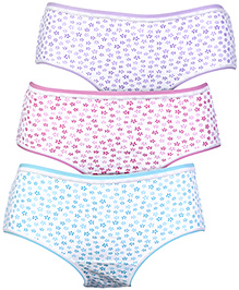 Bodycare Floral Print Panties - Set of 3