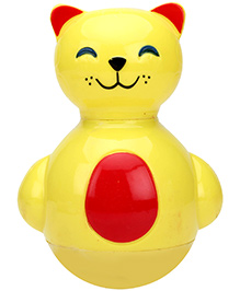Toy Kraft Toddlers Rocking Pals Roly Poly Toy - Red And Yellow