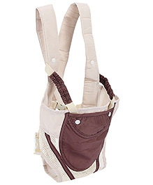 Fashion Baby Carrier Coffee And Cream - CA 116