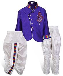 Babyhug Kurta And Dhoti Set - Full Sleeves