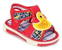 Sweet Year Musical Sandal - Duck Motif