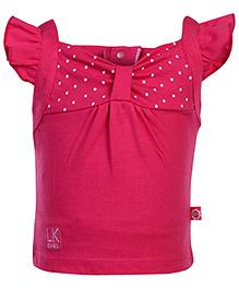 Little Kangaroos Short Sleeves Top - Pink