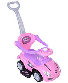 Fab N Funky Mega Car Ride On - Pink