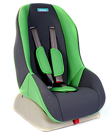 Fab N Funky Kidstar Baby Car Seat - Green And Grey