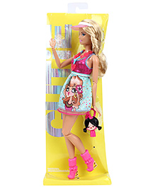 Barbie Doll Fashionista Cute - Height 30 Cm - 3 Years +