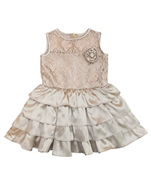 Campana Golden Cupcake Dress - Sleeveless