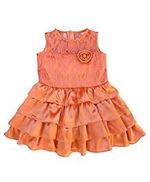 Campana Coral Cupcake Dress - Sleeveless