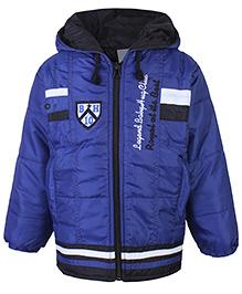 Babyhug Hooded Jacket Full Sleeves
