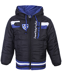 Babyhug Hooded Jacket Full Sleeves