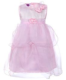 Cupcake Celebrations Sleeveless Party Dress - Rosette Detail