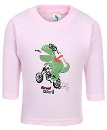 Cucumber Full Sleeves Vest - Light Pink