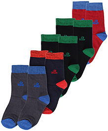 Hush Puppies Socks Dual Colour - Set of 5