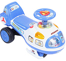 Fab N Funky Musical Swing Car - Blue
